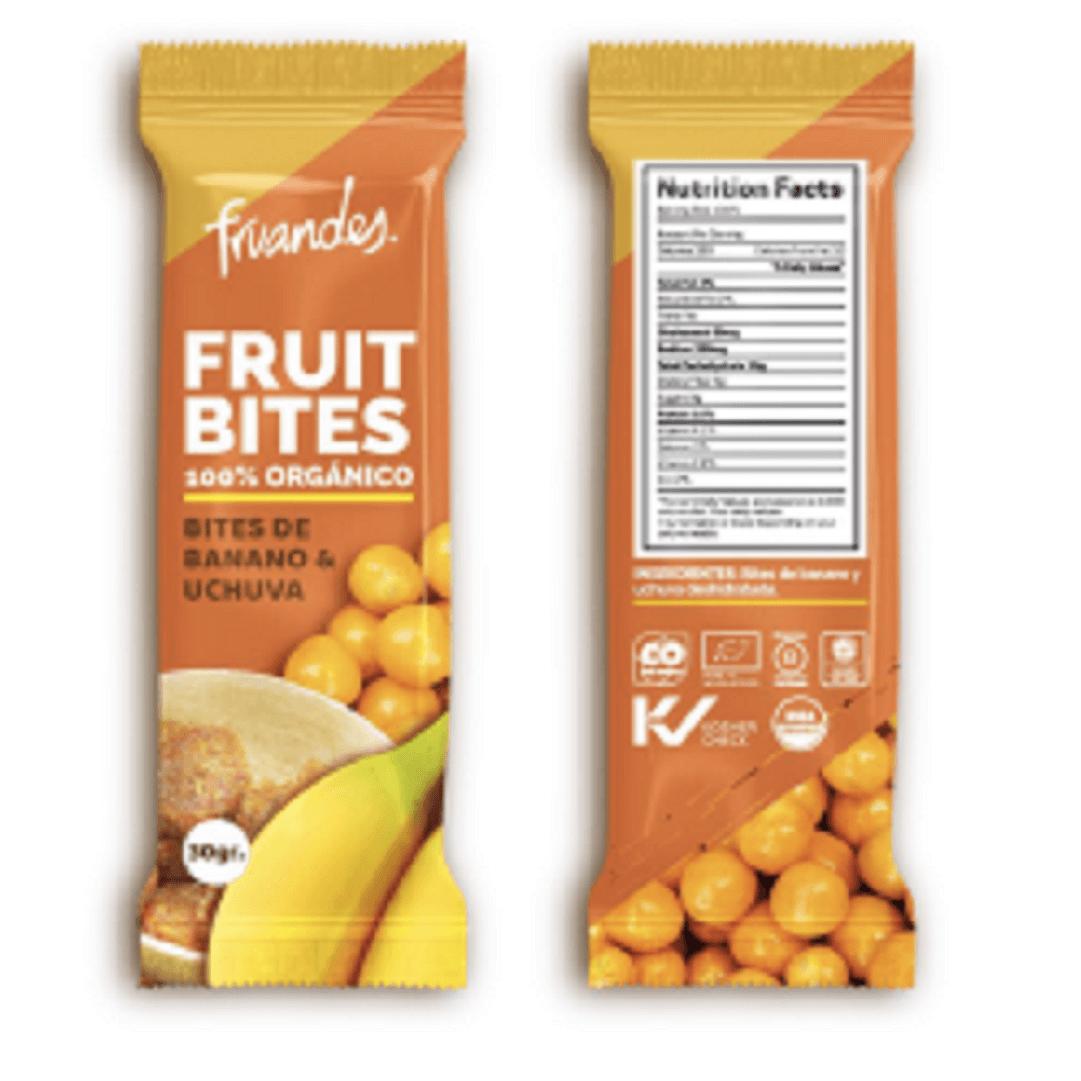 Bites Fruandes Banano Uchuva 28 G