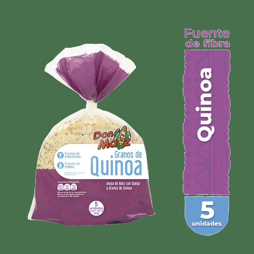 Arepas Don Maíz Queso Quinua X5 Und 400G