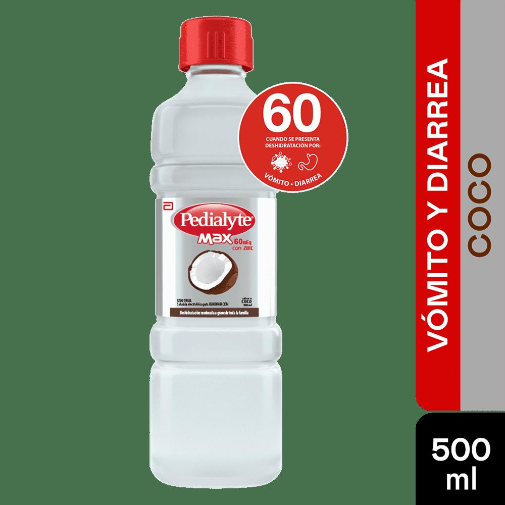 Suero Pedialyte Max Solucion Coco 500 Ml