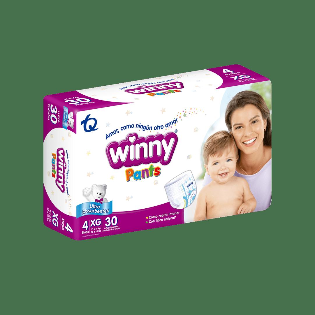 Pañal Winny Pants Etapa 4 - 30 Und