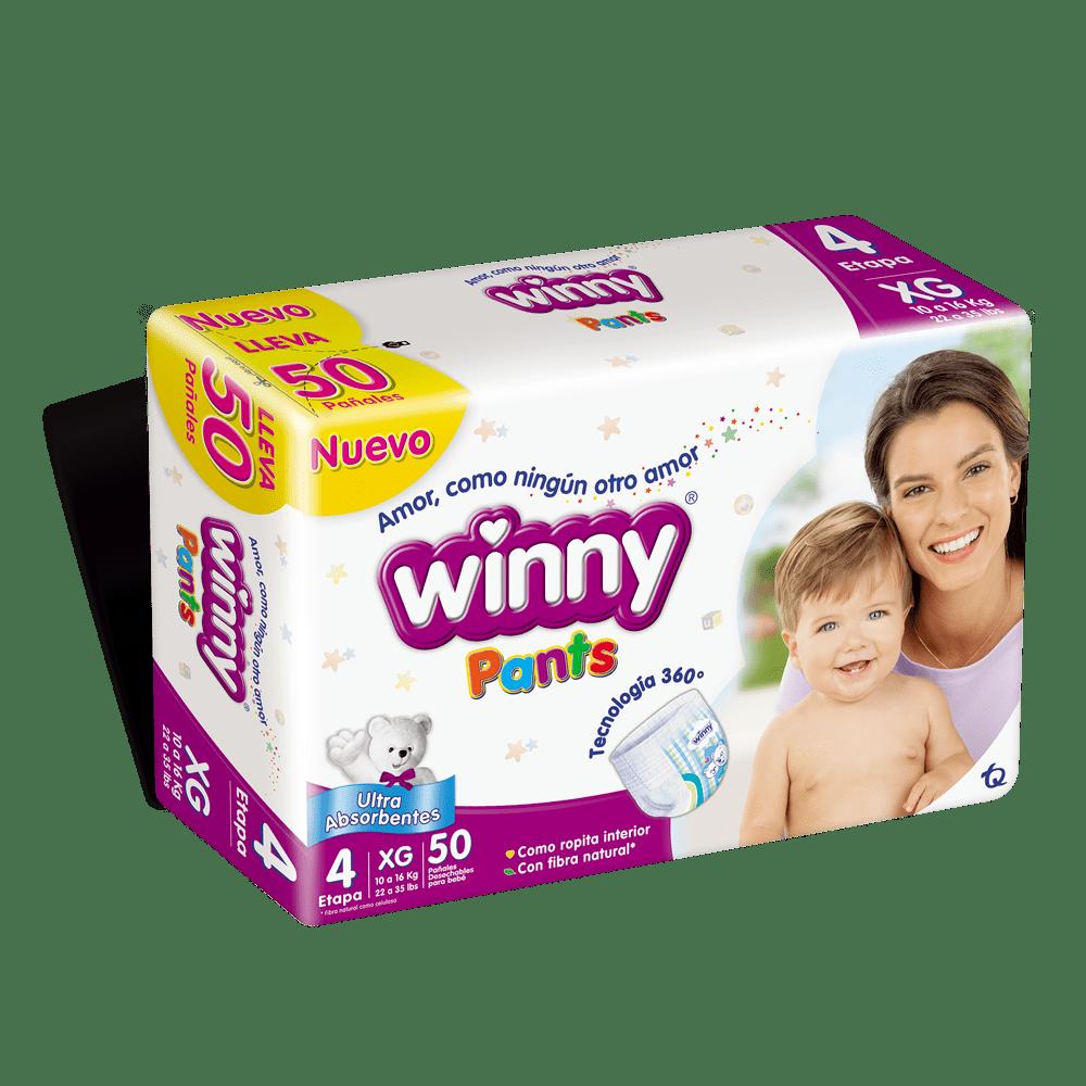 Pañal Winny Pants Etapa 4 - 50 Und
