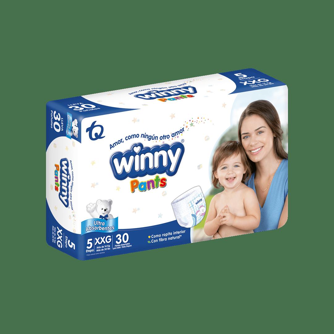 Pañal Winny Pants Etapa 5 - 30 Und