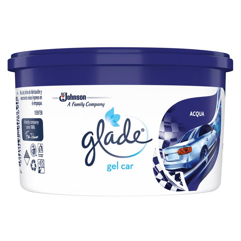 Ambientador Glade Gel Car Aqua 70 G