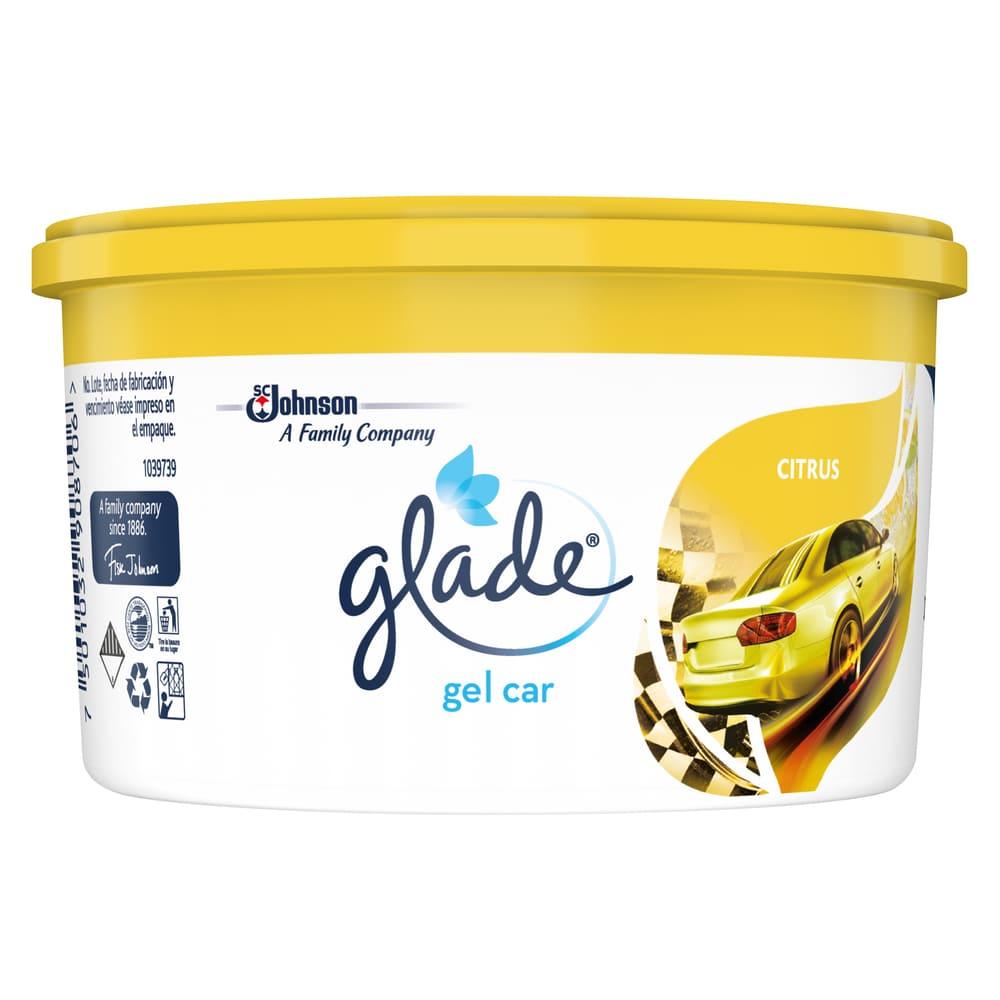 Ambientador Glade Gel Car Citrus 70 G
