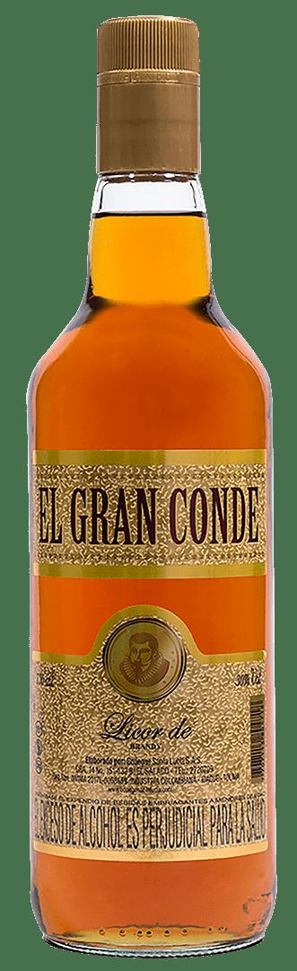 Licor De Brandy El Gran Conde 750 Ml