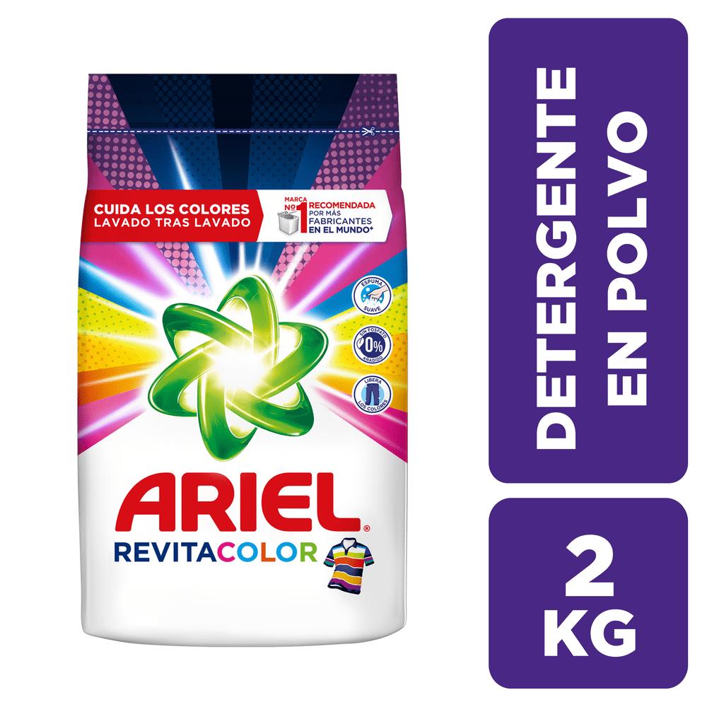 Detergente Ariel 2000 G Revitacolor