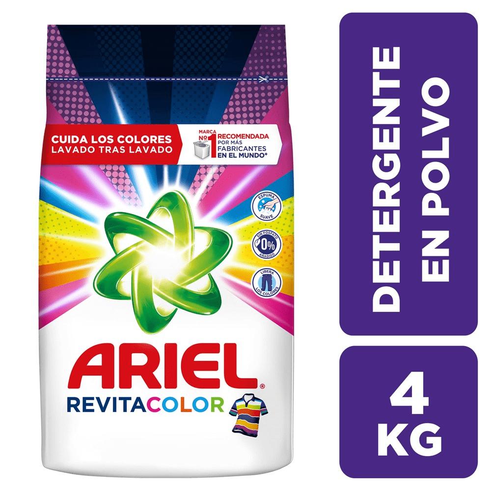 Detergente Ariel 4000 G Revitacolor