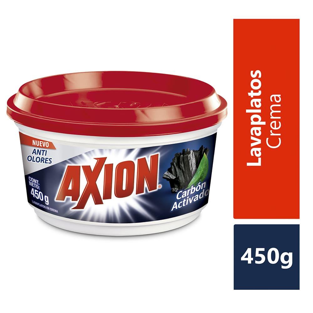 Lavaplatos Axión Carbón Crema 450 G