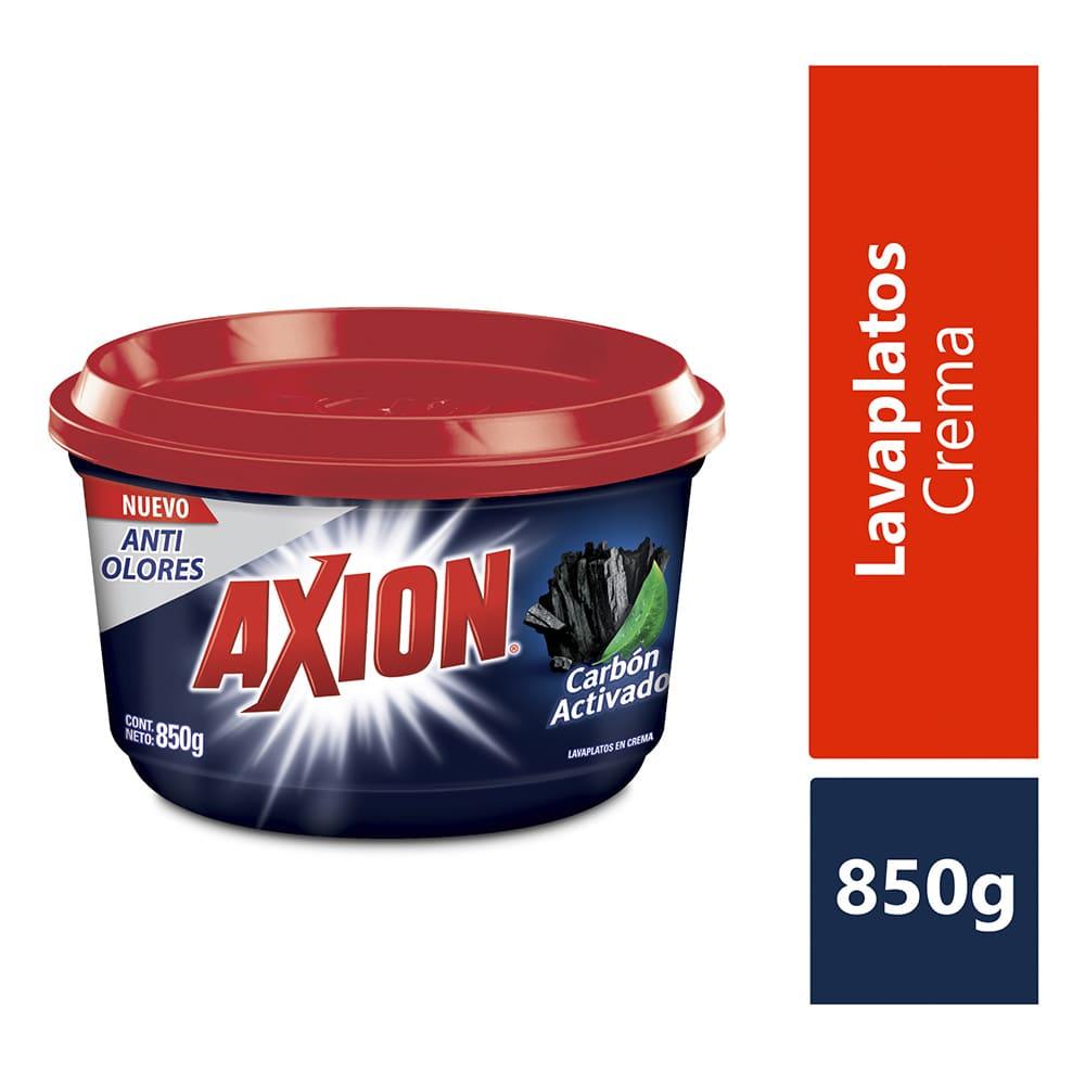 Lavaplatos Axión Carbón Crema 850 G