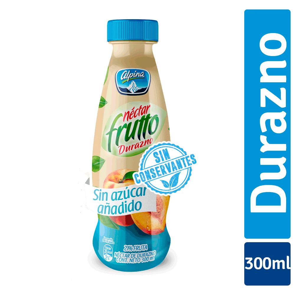 Frutto Durazno Zero 300Ml Botella