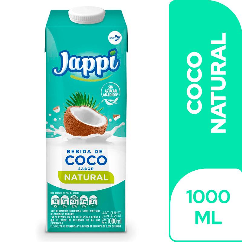 Bebida De Coco Jappi 1000 Ml