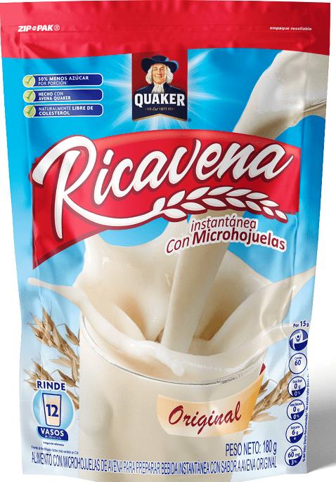 Ricavena Quaker Original Doypack 180 G
