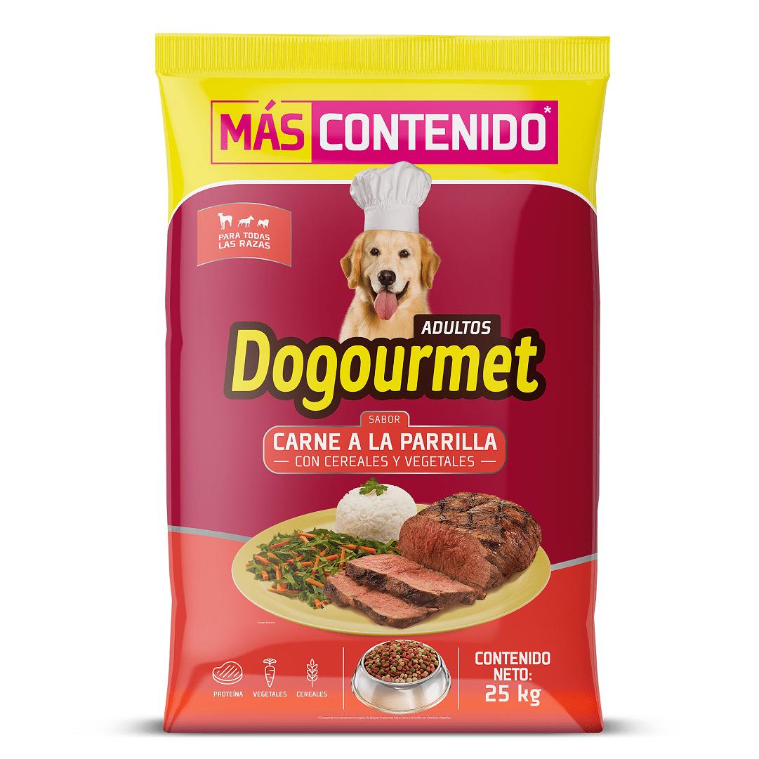 Dogourmet Carne Parrila 22 Kg + 3 Kg Precio Especial