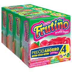 Gelatina Frutiño 4X40 G Frutos-Piña-Salpicon