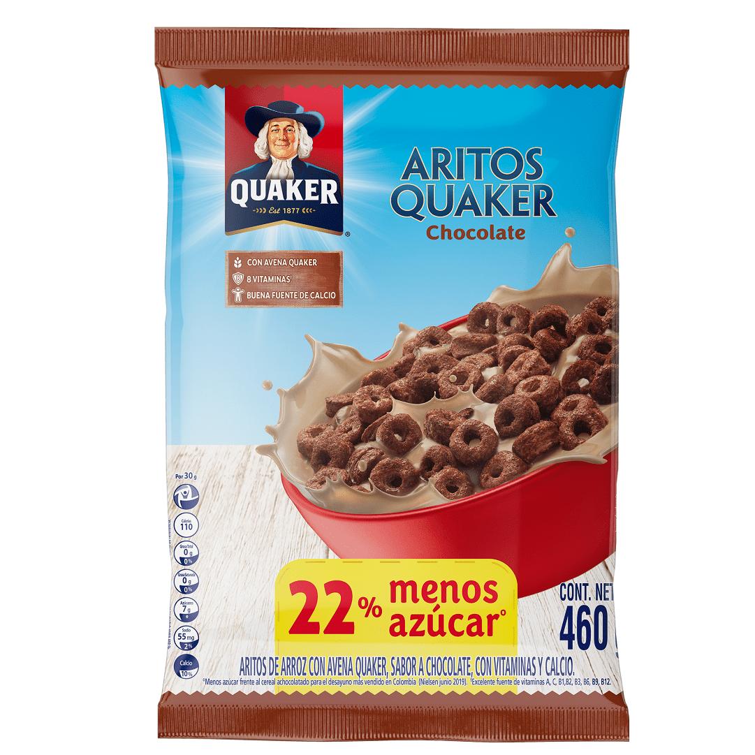 Cereal Aritos Quaker Chocolate 460 G