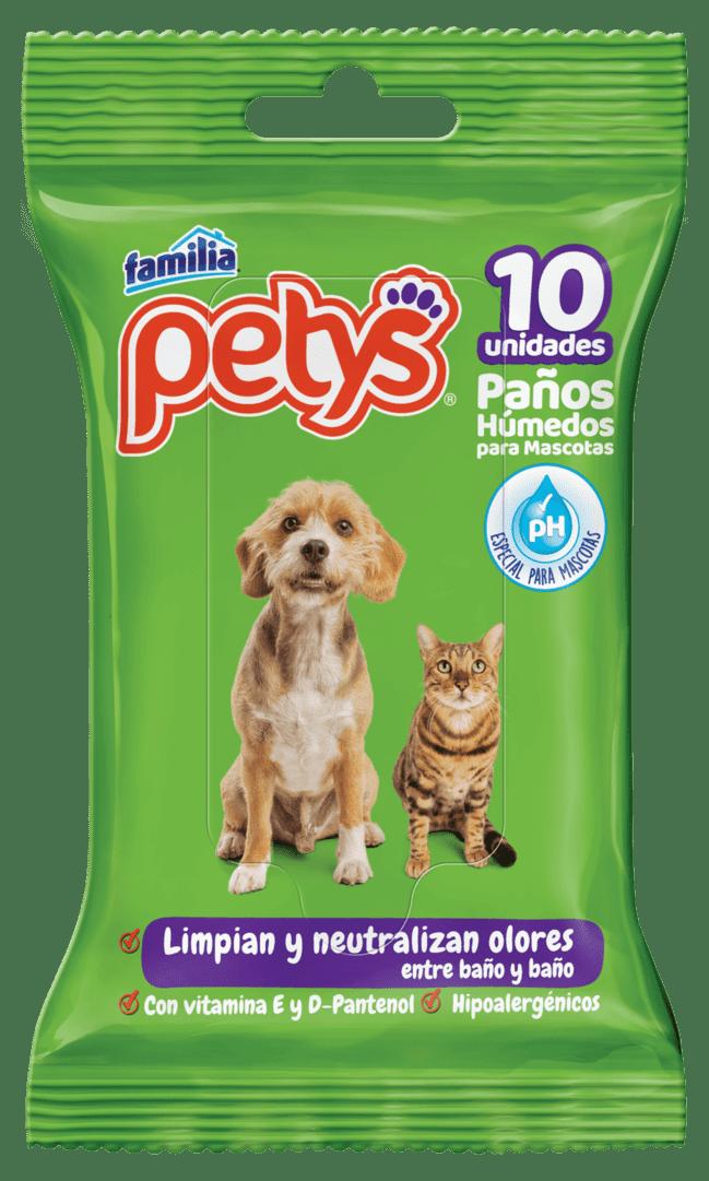 Paños Húmedos Petys Original 10 Und