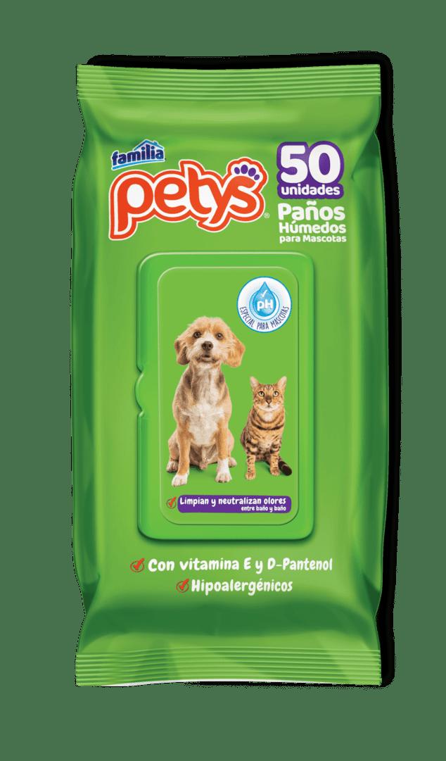 Paños Humedos Petys Original 50 Und