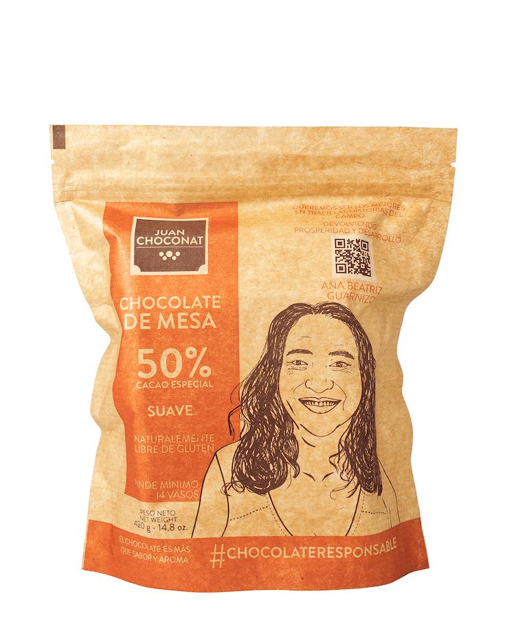 Chocolatina Juan Choconat Suave Bolsa 420 G