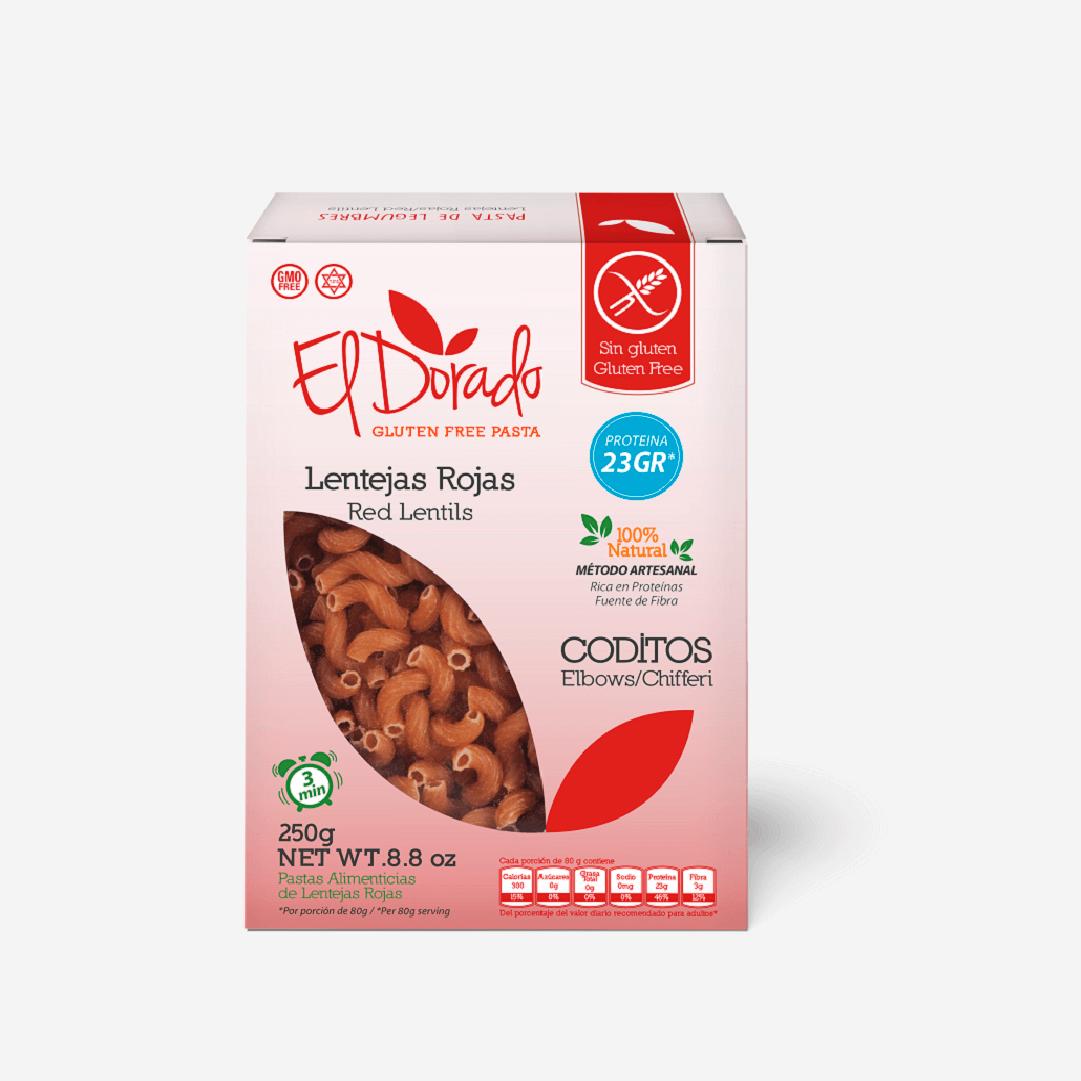 Pasta El Dorado Lentejas Codito 250 G