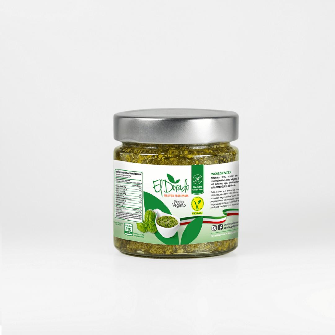 Salsa Pesto El Dorado Vegano 180 G