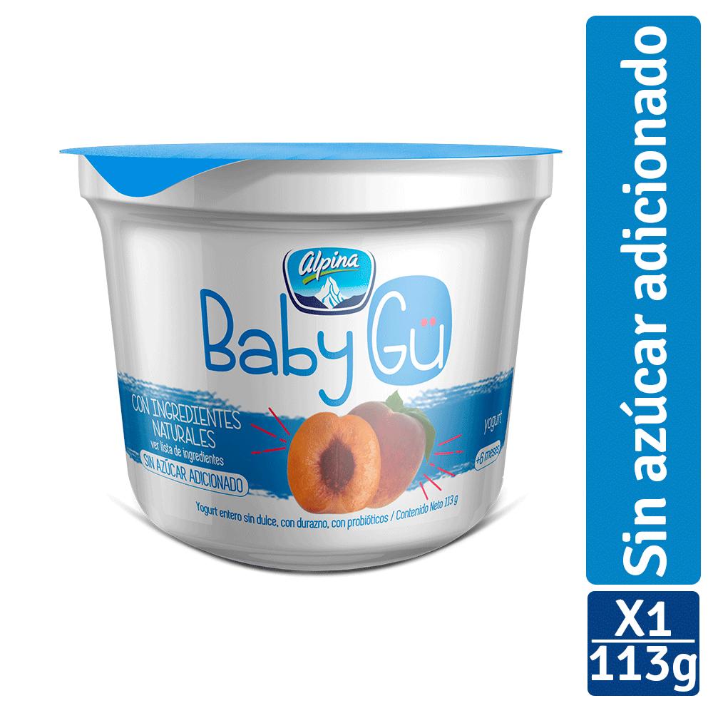 Yogurt Alpina Baby Gü Durazno 113G