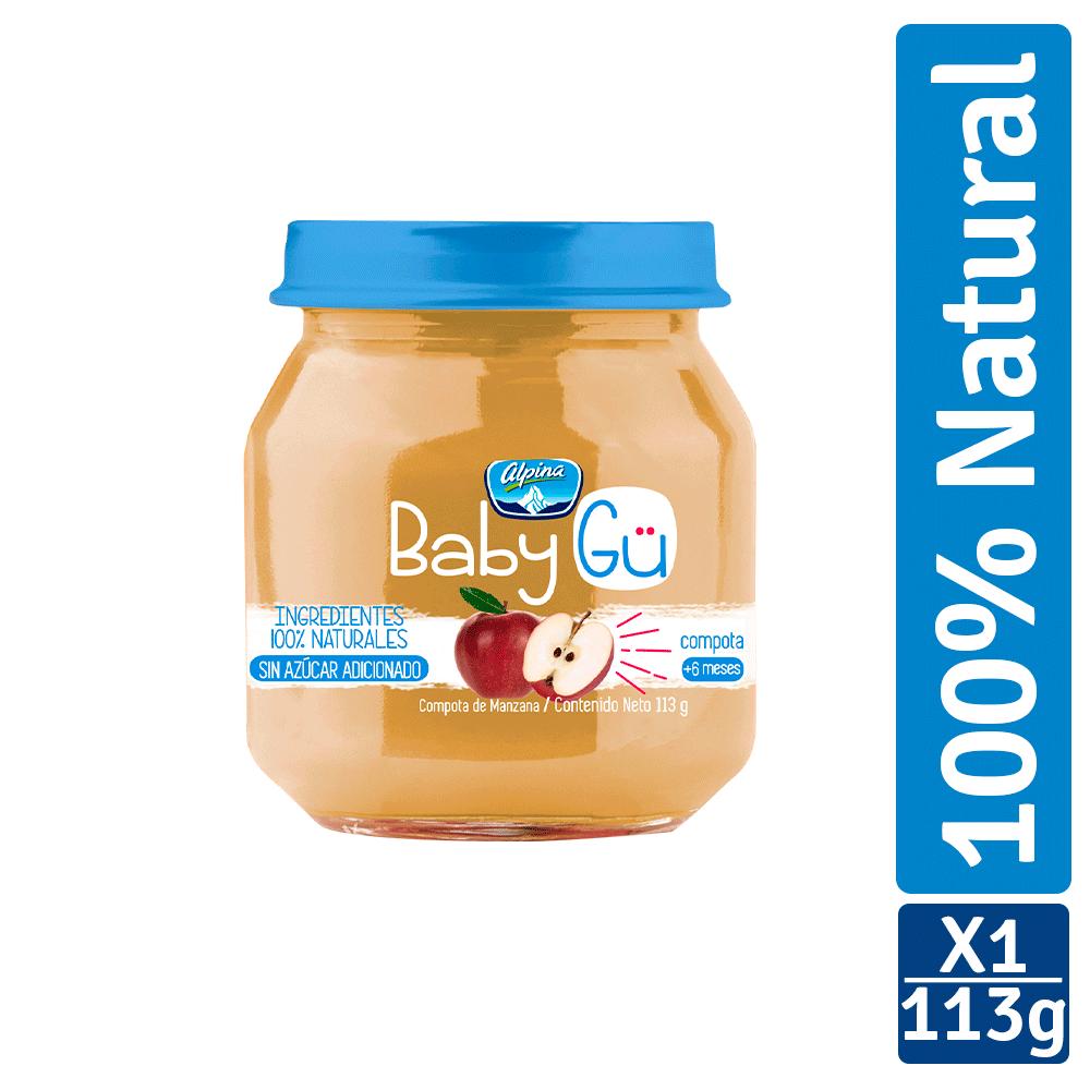 Compota Alpina Baby Gü Manzana 113G