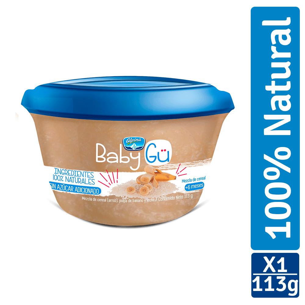 Mezcla De Cereales Alpina Baby Gü Arroz Y Banano 113G