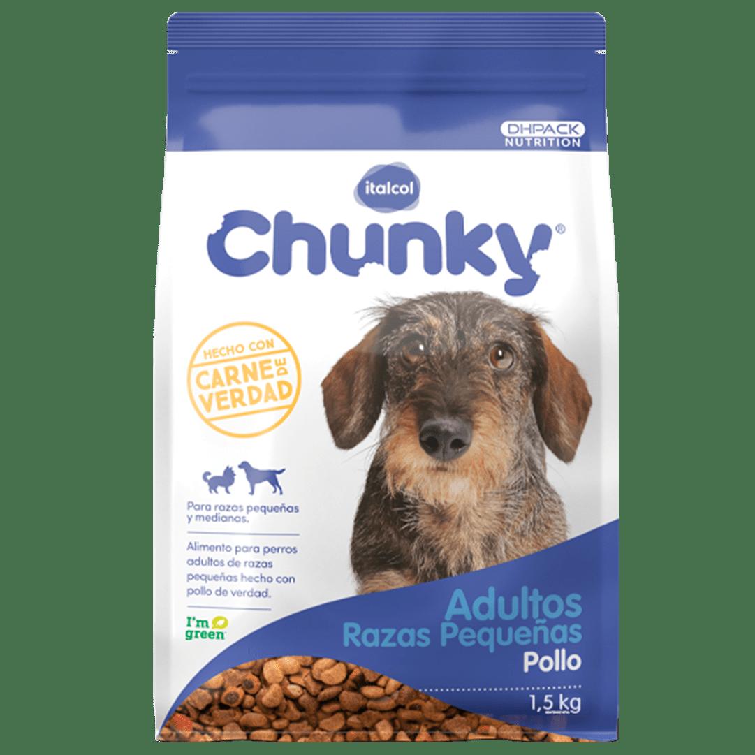 Chunky Adulto Nuggets Razas Pequeñas 1500 G