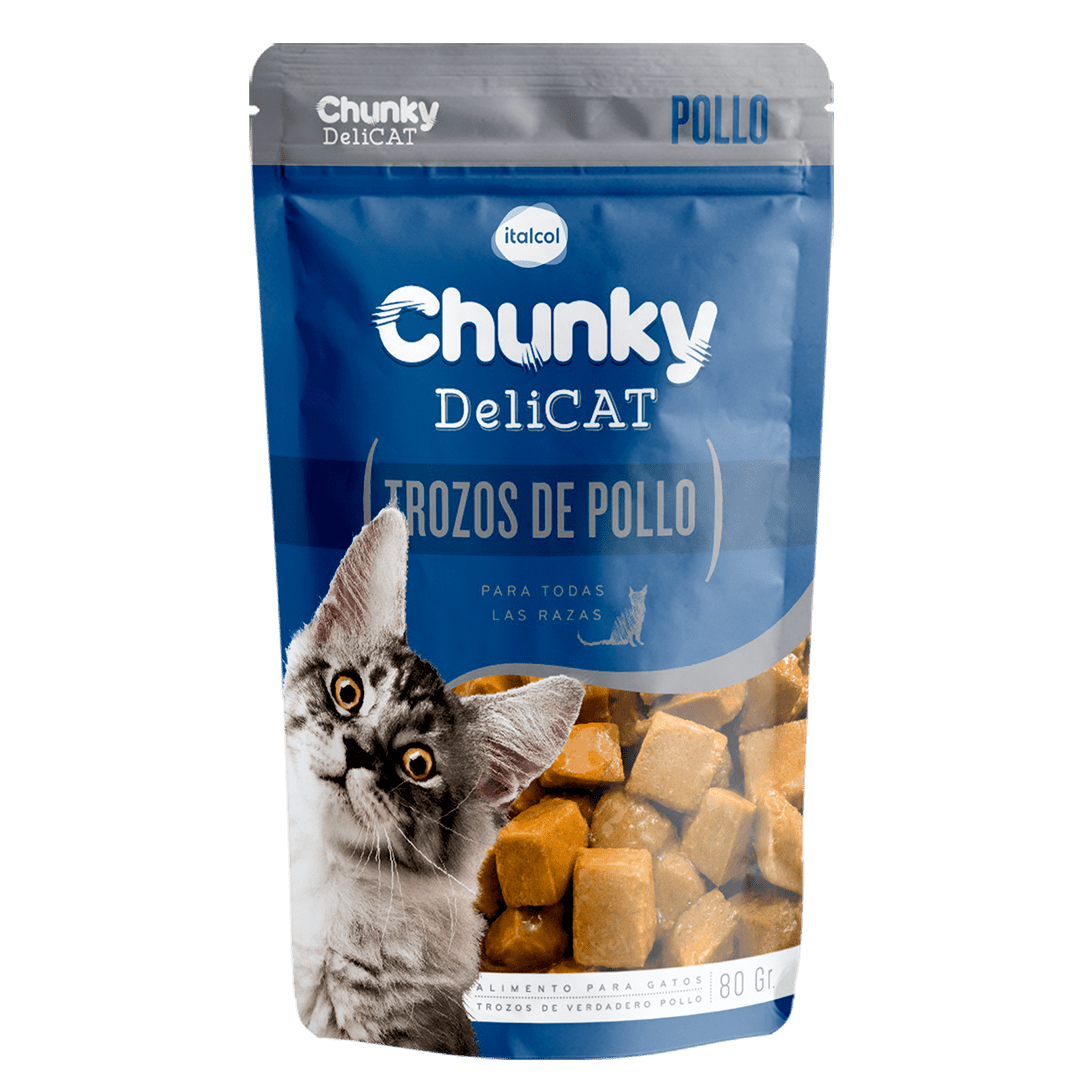 Delicat Chunky Trozos Pollo 80 G