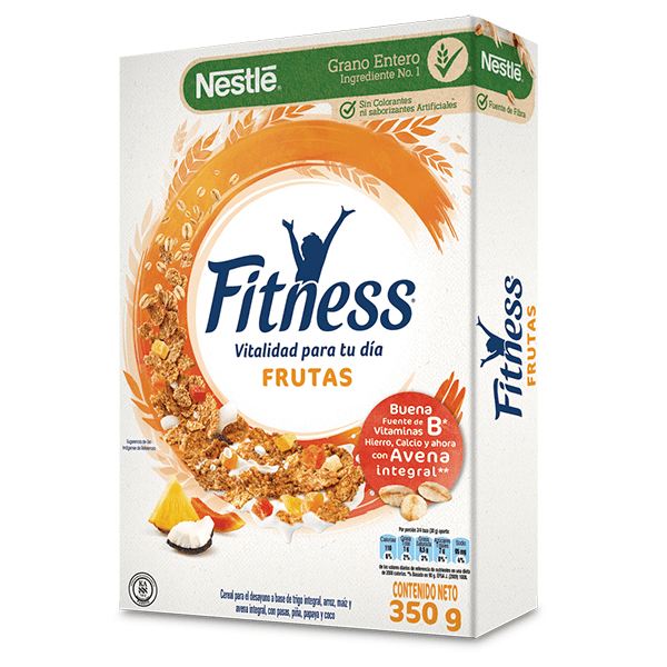 Cereal Fitness Frutas 350 G