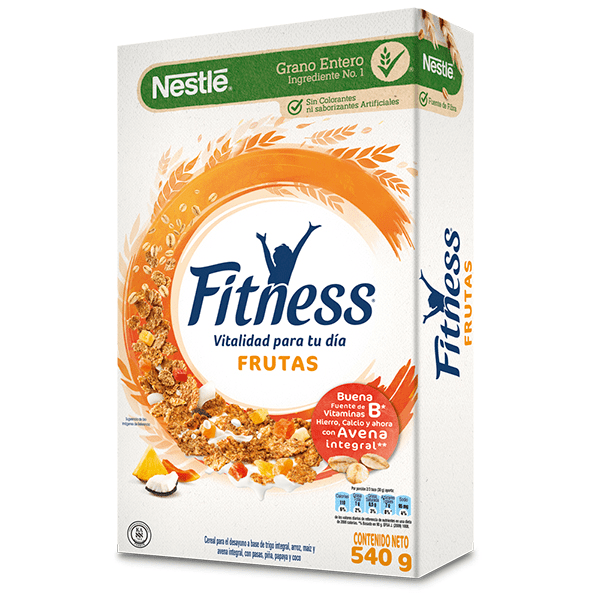Cereal Fitness Frutas 540 G