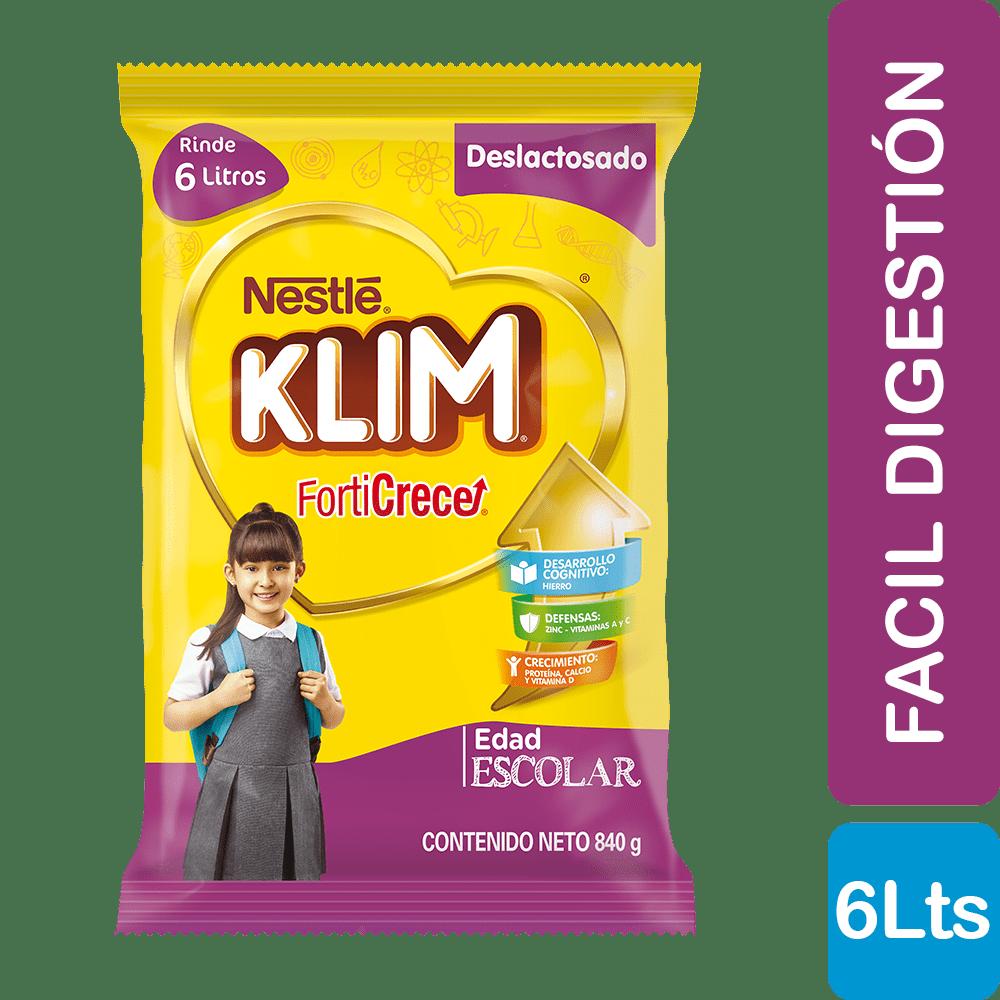 Alimento Lácteo Forticrece Deslactosado 840 G