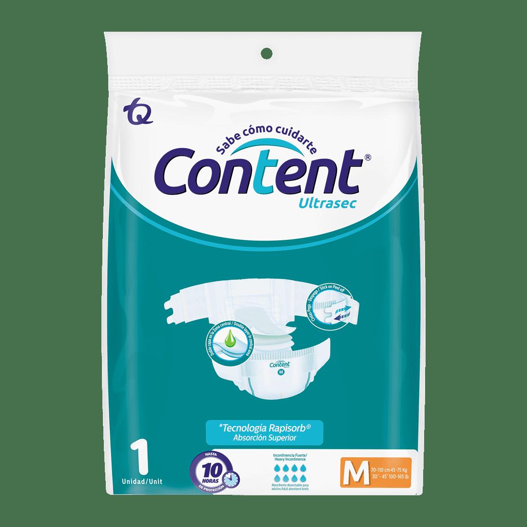 Pañal Content Talla M 1 Und