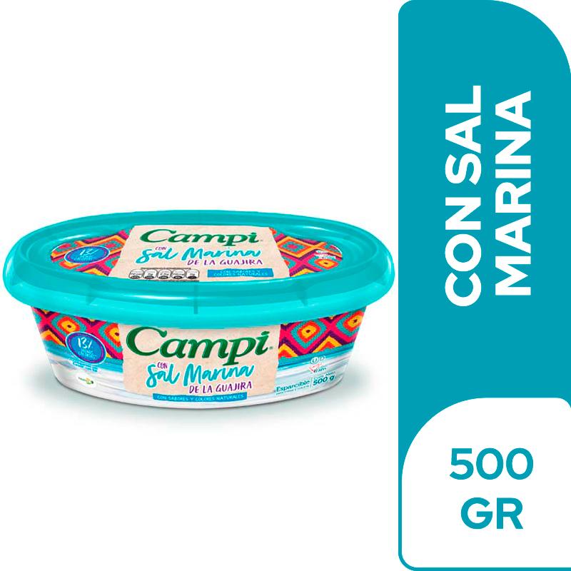 Margarina Campi Sal Marina 500 G
