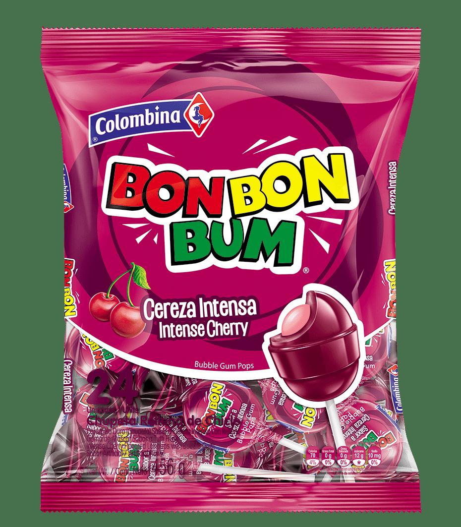 Dulce Bon Bon Bum X24 Und Cereza 456 G