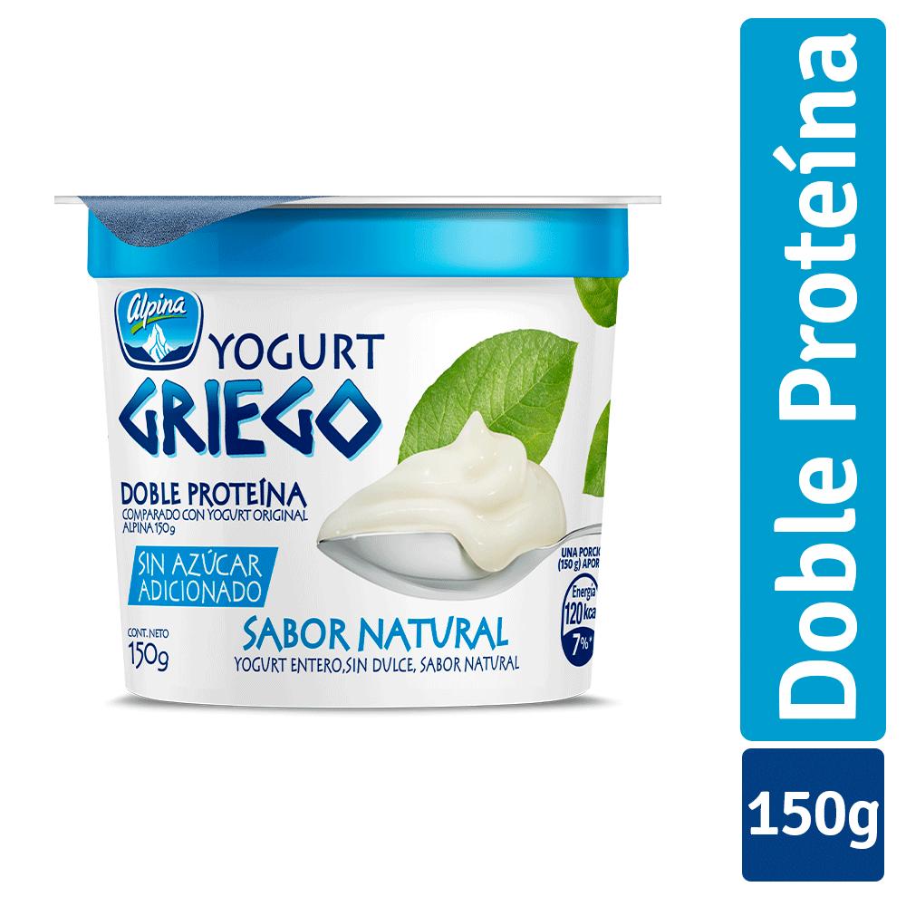Yogurt Griego Sin Azúcar 150G
