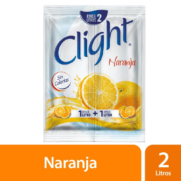 Clight Sin Calorías Naranja 14 G