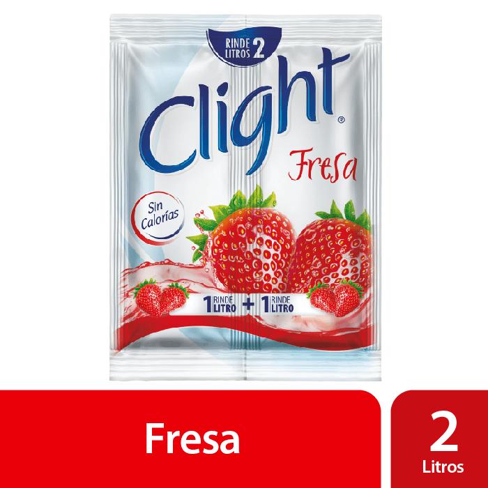 Clight Sin Calorías Fresa 14 G