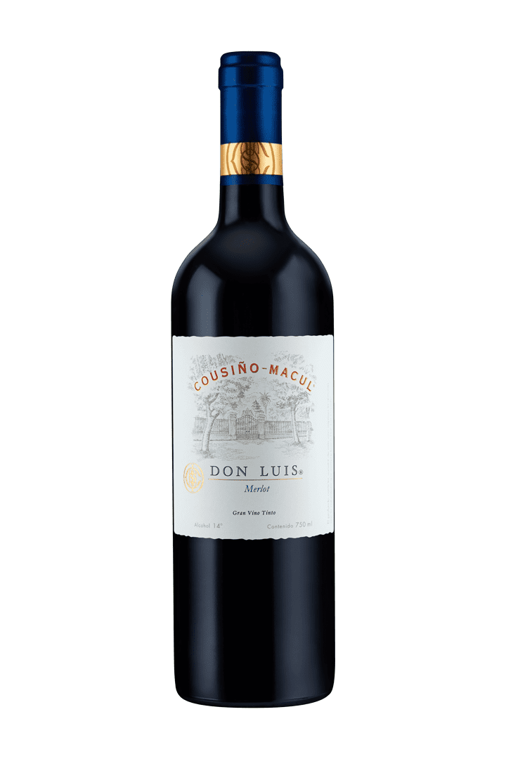 Vino Cousino-Macul Don Luis 750 Ml Merlot