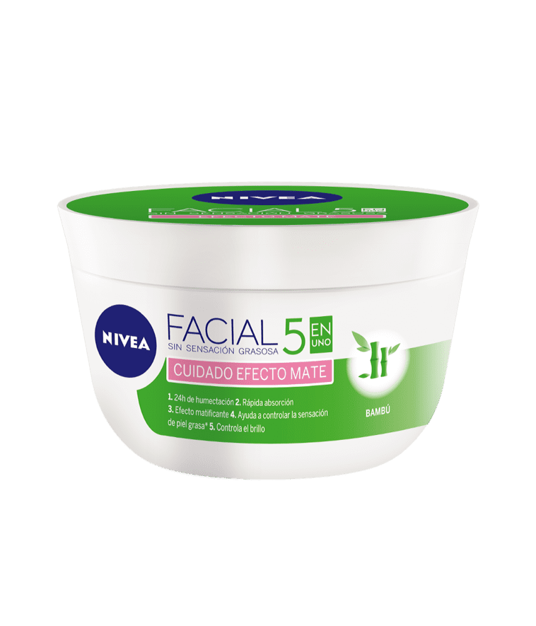 Crema Nivea Cuidado Facial Mate 50 Ml