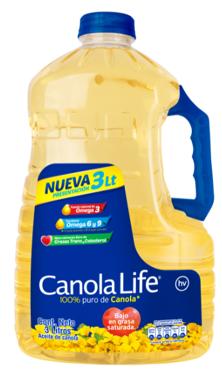 Aceite Canola Life 3000 Ml
