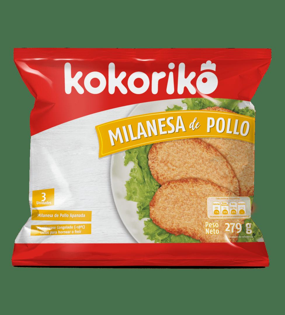Milanesa De Pollo Kokoriko 279 G