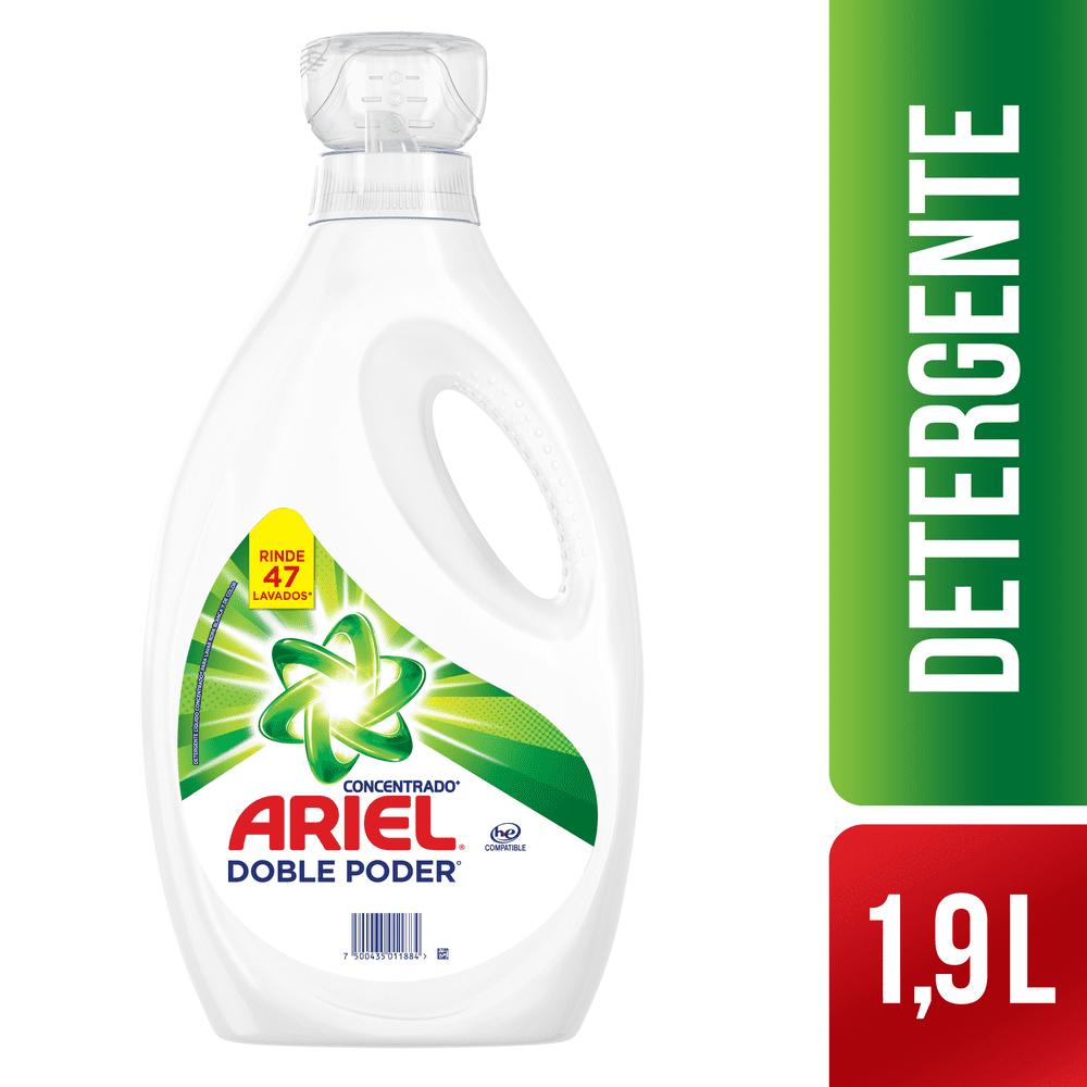 Detergente Ariel Líquido 1900 Ml Concentrado