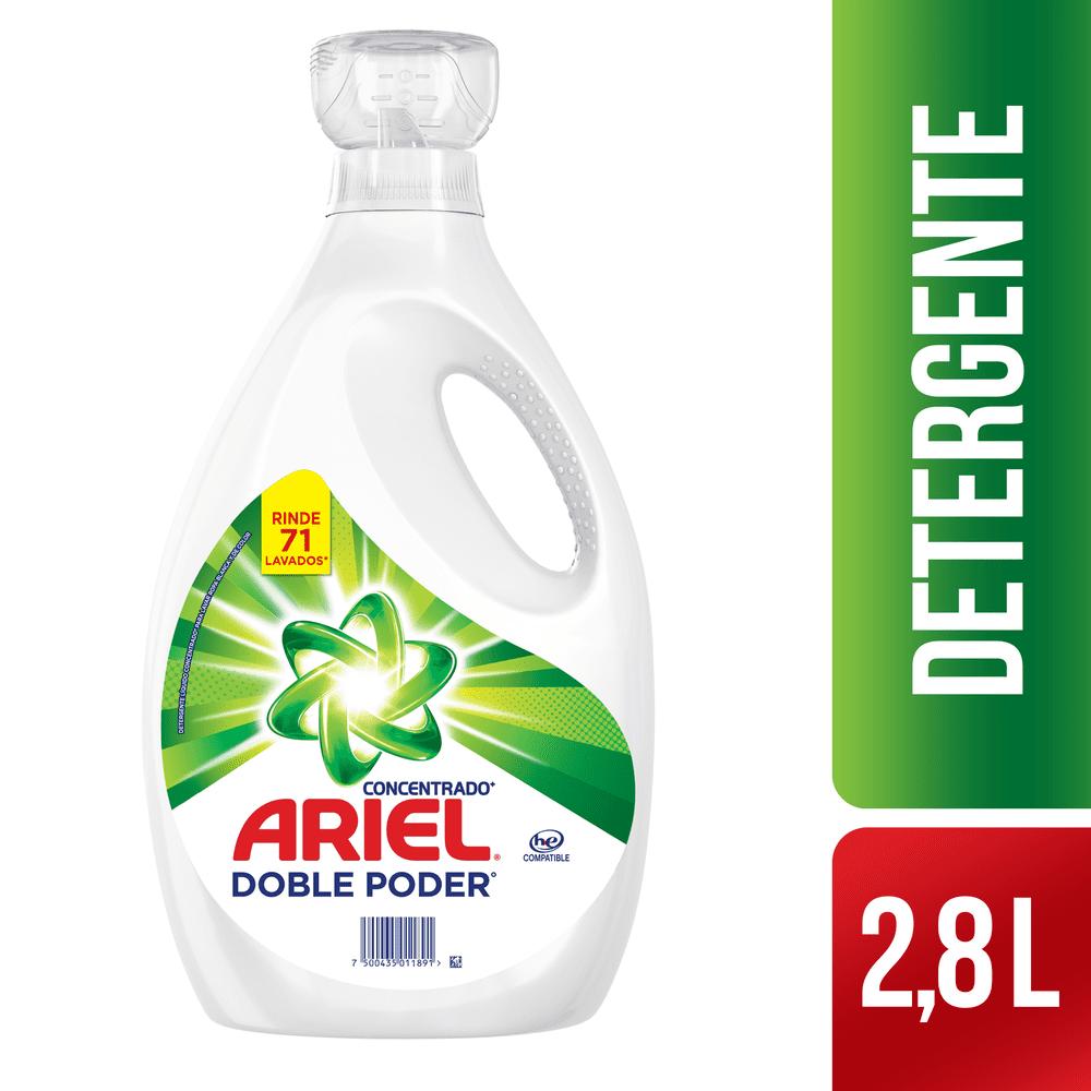 Detergente Ariel Líquido 2800 Ml Concentrado