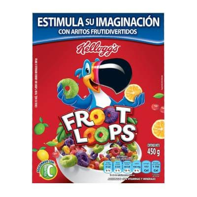 Cereal Froot Loops Kelloggs 450 G