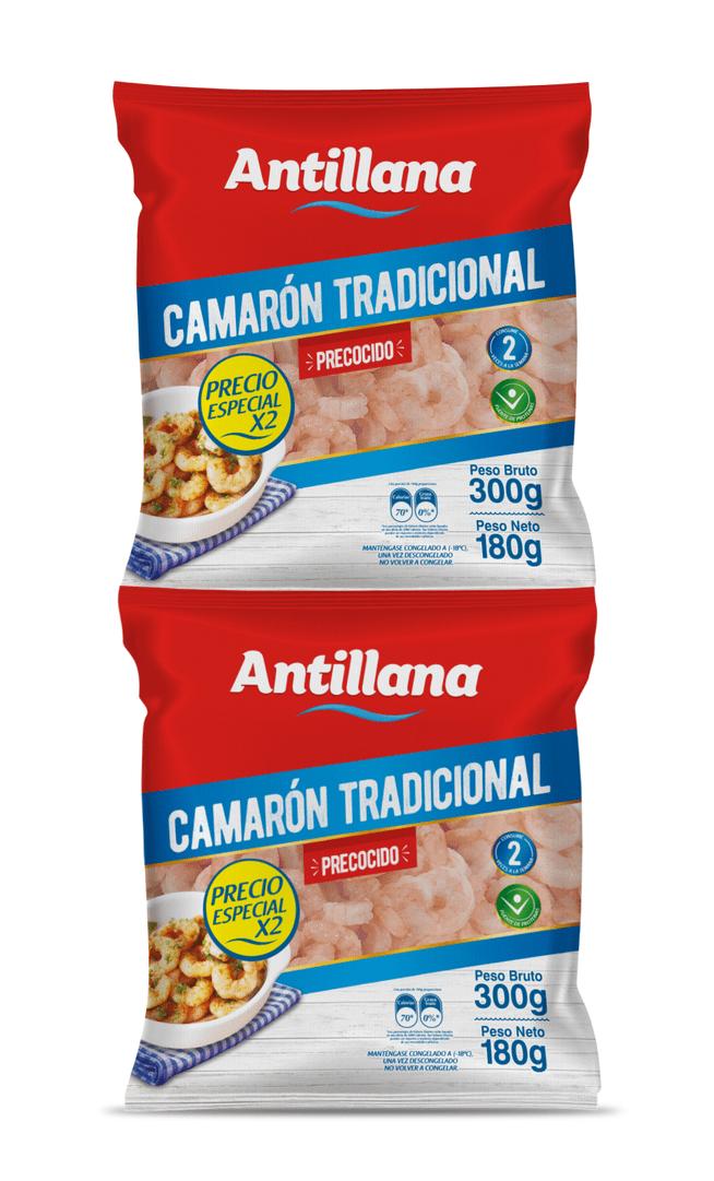 Camarón Antillana Tradicional 300 G $ Esp Und