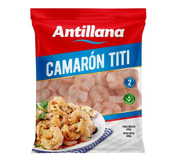 Camarón Antillana Titi 500 G