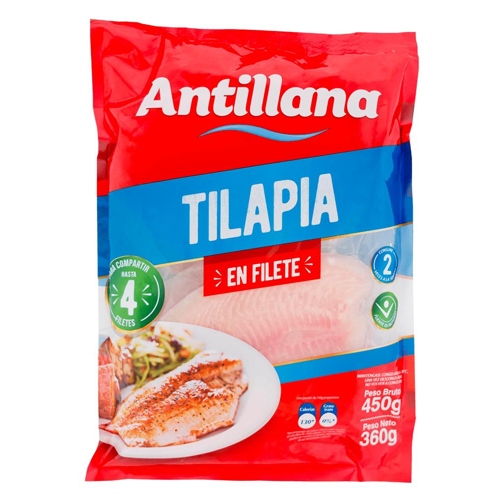 Filete De Tilapia Antillana 450 G