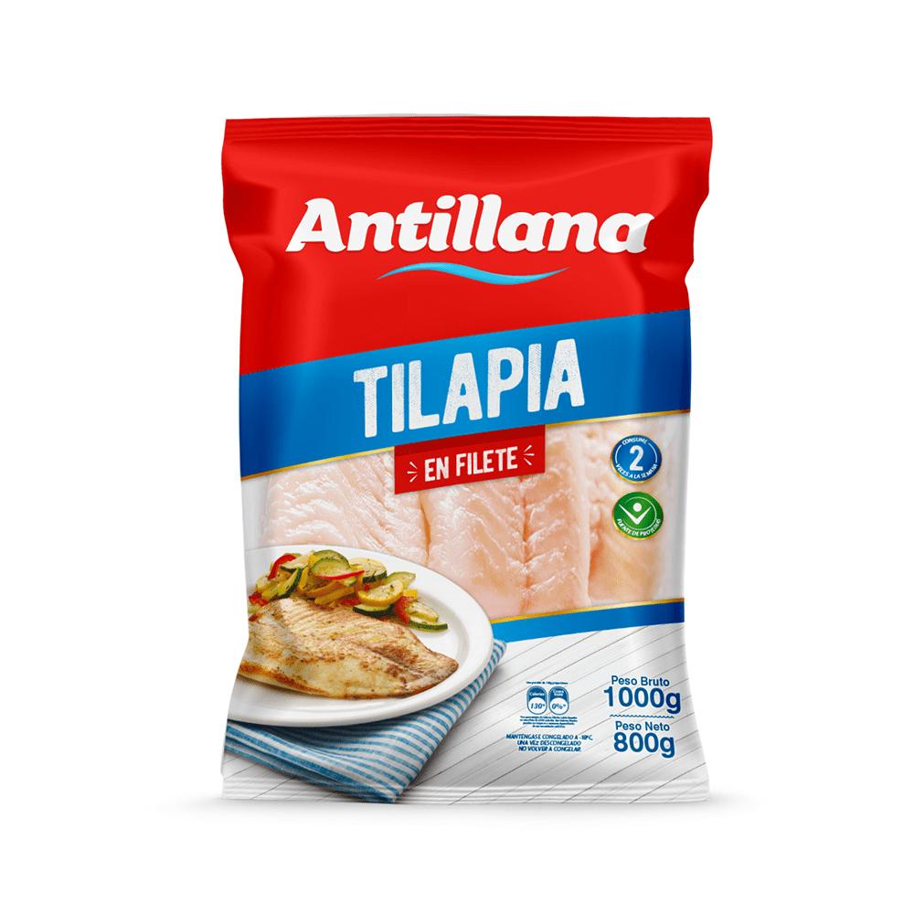 Filete Tilapia Antillana 1000 G