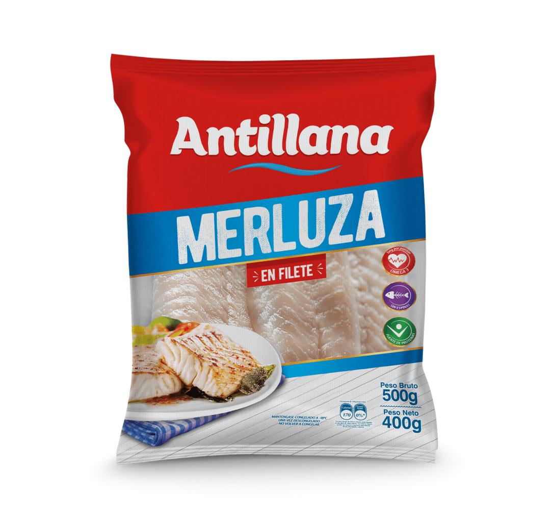 Filete Merlluza Antillana 500 G